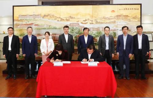 濰柴與天津大學續簽戰略合作協議
