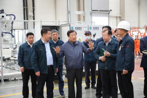 谭旭光调度山东重工莱芜智能产业城重大项目进展