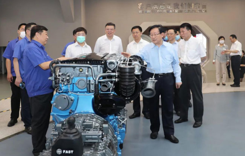 Vice Chairman of the CPPCC National Committee Wan Gang Visits Weichai